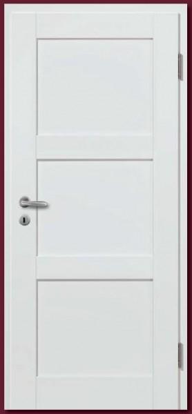 Türblatt Weißlack Basic-Casa 35