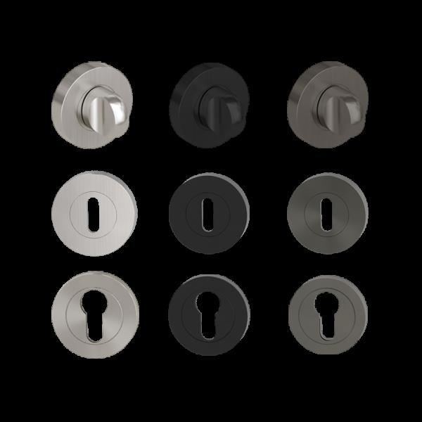 Schlüsselrosette für Graph, Leaf Light, Avus und Remote
