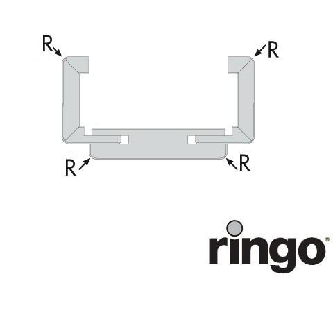 Ringo Durchgangszarge - 63mm Bekleidung - Arctic White