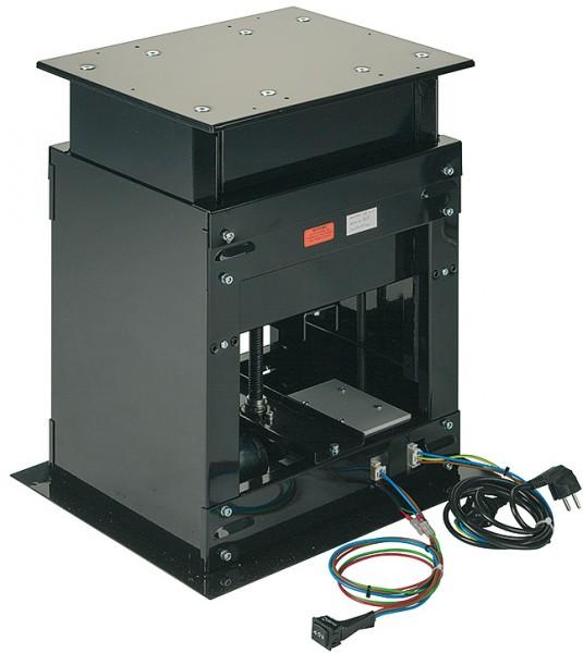 Tischheber TABLOLIFT schwarz 220V, elektrisches Hebesystem 80 kg