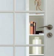 Füllungsglas Klar für LA Stiltüren 4mm, (Trend 1, Trend 2) inkl. Verglasungskosten